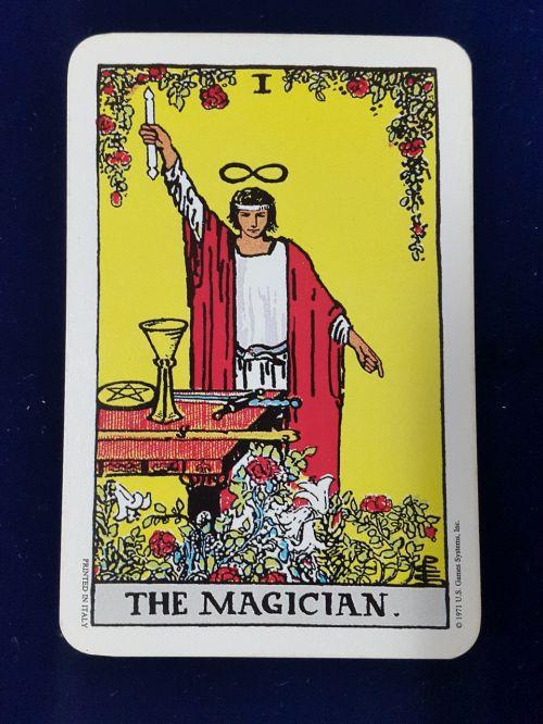 wizard tarot card rider site