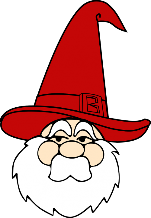 wizard red hat