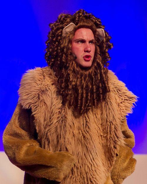 wizard of oz lion wizard