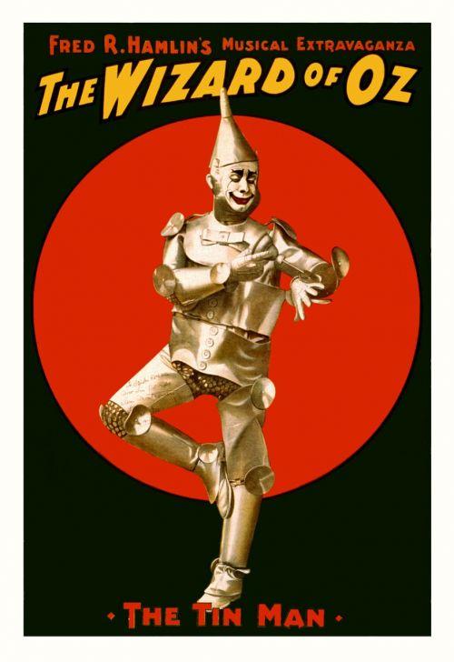 wizard of oz poster tin man