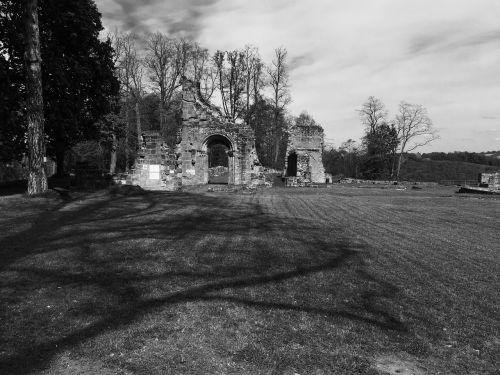 woerschweiler monastery ruins middle ages