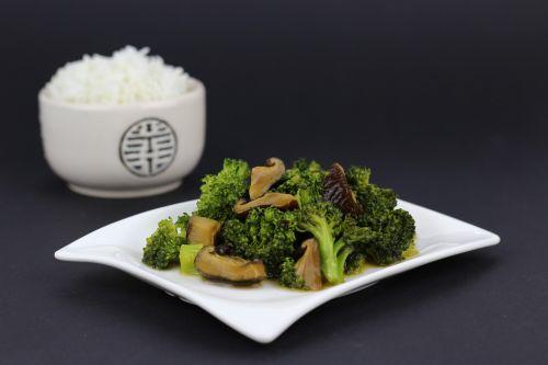 wok dish asia rice