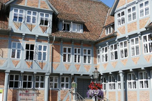 wolfenbüttel old town lower saxony