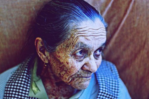 woman old aged