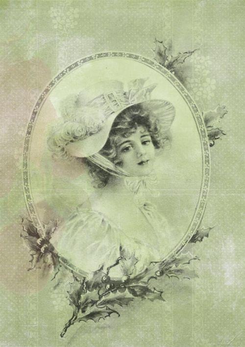 woman vintage lady