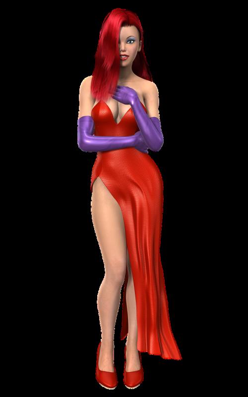 woman tube figure