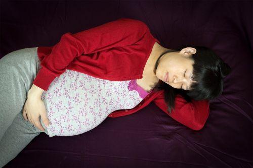 woman pregnant asian