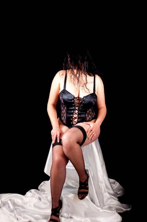 woman sensual body