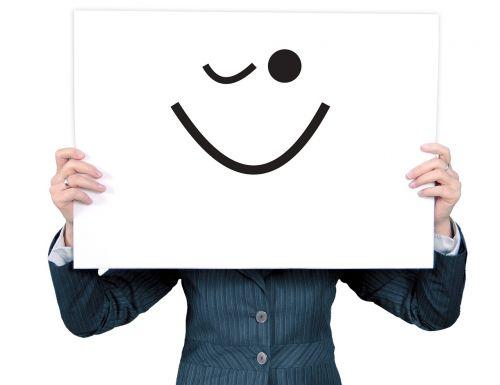 woman smiley emoticon