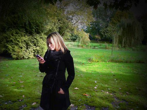 woman iphone girl