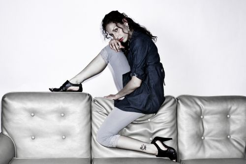 woman girl model