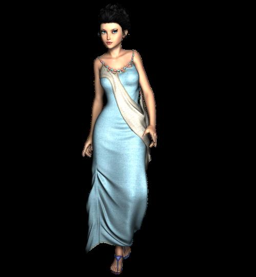 woman standing model