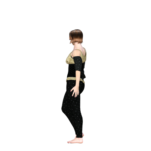 woman model move