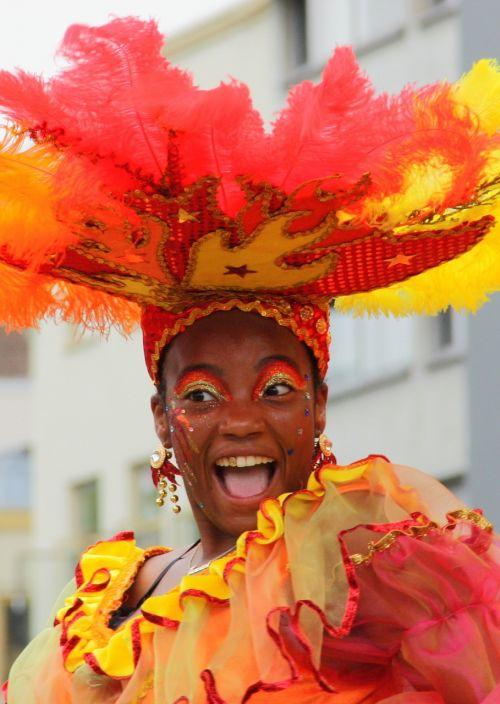 woman carnival rotterdam