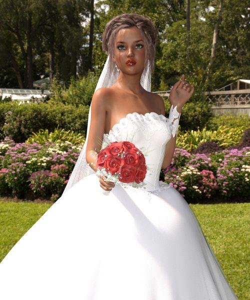 bride doll woman