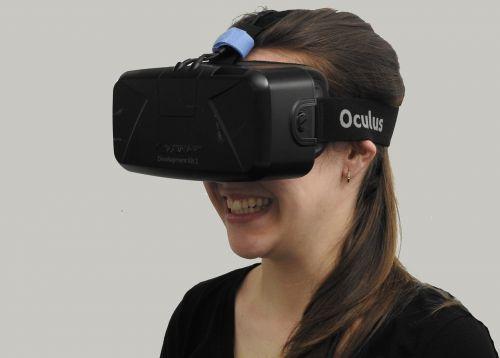 woman vr virtual reality