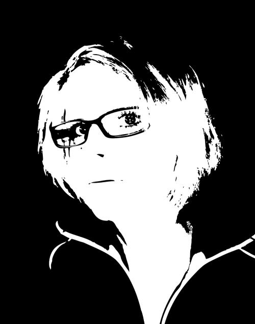 woman spectacles portrait