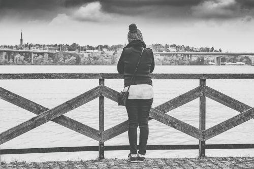 woman view stockholm