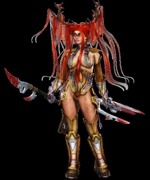 woman hair armor