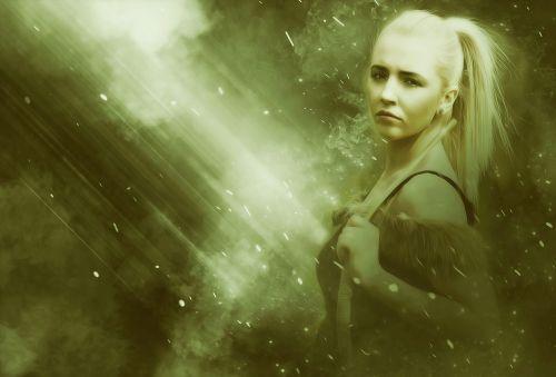 woman female warrior