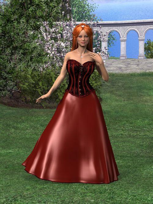 woman dress fashion