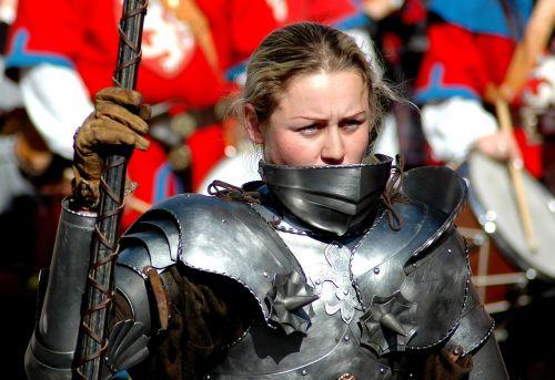woman warrior armor