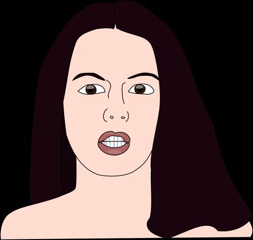 woman lady female
