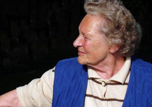 woman pensioner portrait