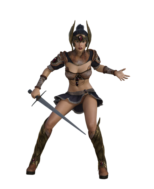 woman fighter amazone