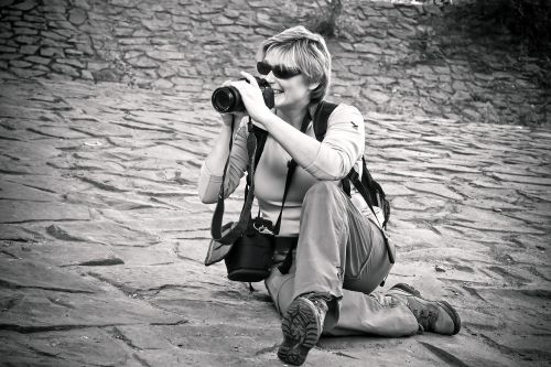 woman photographer photograph