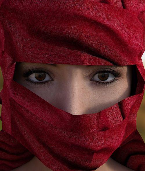 woman headscarf hijab