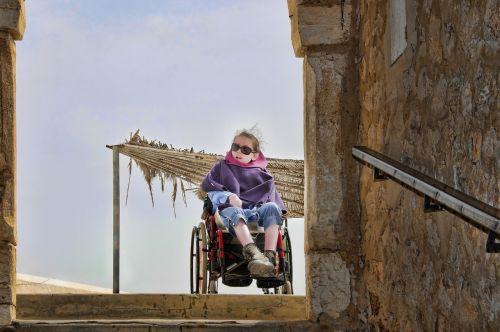 woman handicap humans