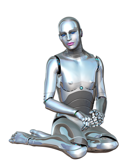 woman robot female
