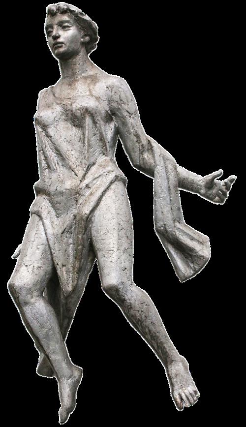 woman statue bronze statue