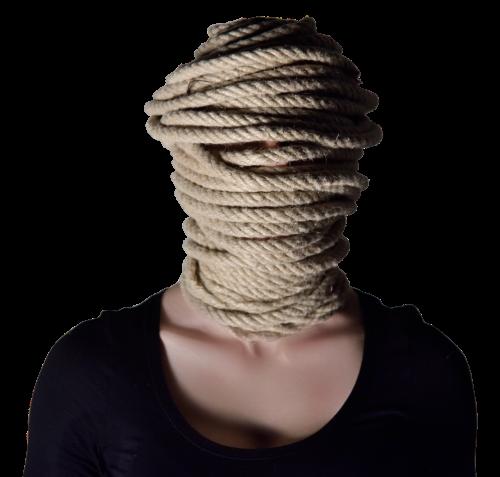 woman knitting fear