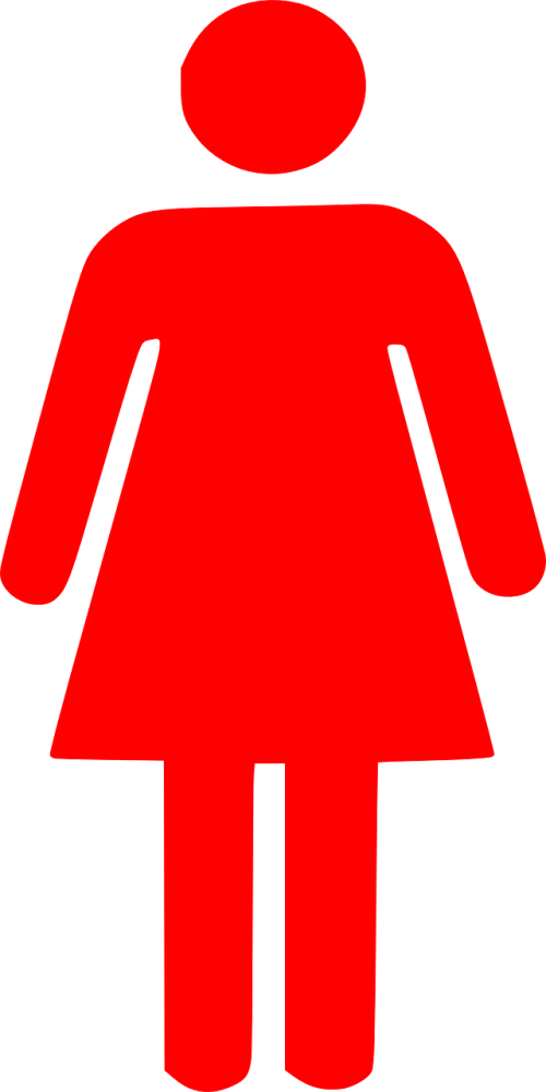 woman female pictogram