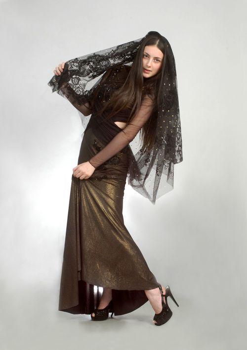 woman fashion young
