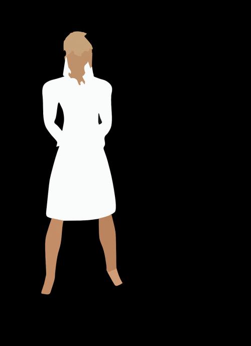 woman girl uniform