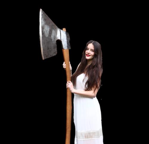 woman  reaper  cutout