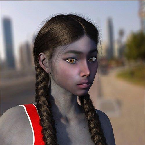 woman  portrait  human