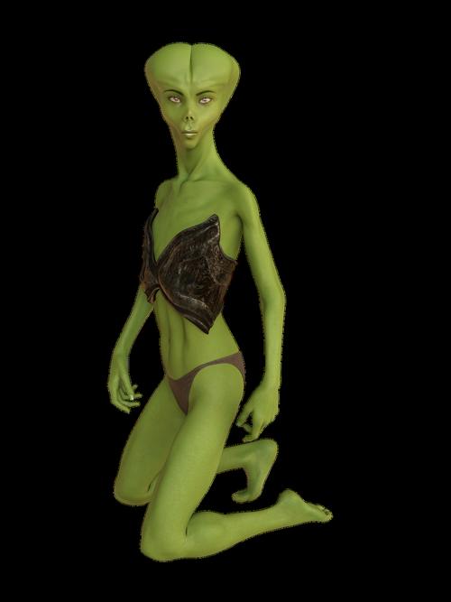 woman  alien  alie