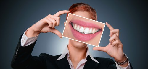 woman  smile  tooth