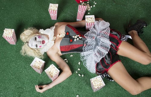 woman  clown  female
