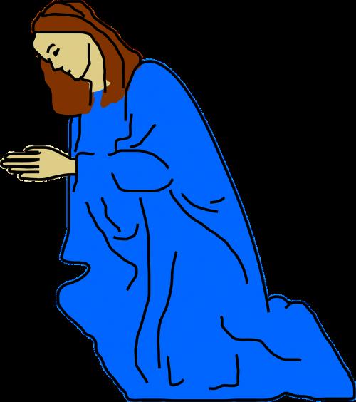woman praying worshipping