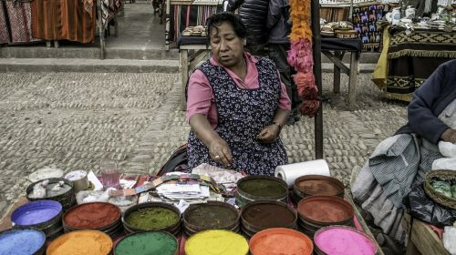 woman seller vendor