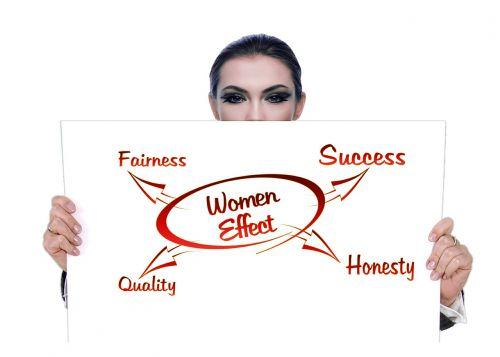 woman business world head