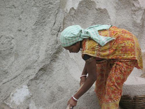 woman labourer worker