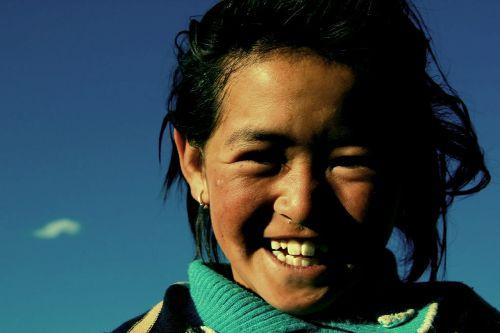 woman ladakh india