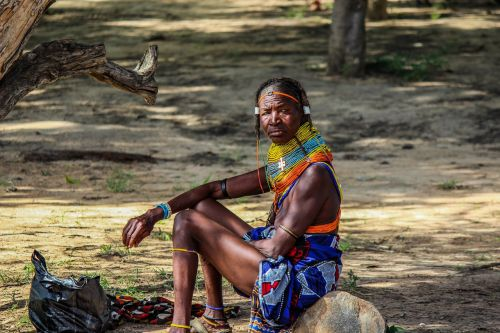 woman african africa
