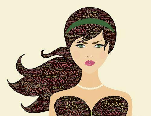 woman beauty qualities